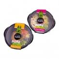 """Poke bowl - Plat de poisson mariné et riz de style hawaïen. Avec des légumes frais et de la sauce. <br><br>Sélectionné pour le caractère exotique """"à la mode"""" du concept poke bowl.<br>"""
