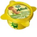 Sauce Mortier Aïoli  fraîche CHOVI - Sauce fraîche au goût Aïoli réalisée selon la recette traditionnelle d'Aïoli avec des ingrédients naturels tel que l'Ail frais de Castille. Présentée dans un mortier de poterie jaune, sa dégustation vous donnera un goût frais, crémeux et une saveur intense. Produit Sans gluten . conserver à 2-4°C