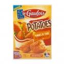 Potatoes - Croquettes de pommes de terre en forme de potatoes. Sans exhausteurs de goût ni huile de palme. 15 pièces.<br><br>Sélectionné pour l'originalité de la forme et de la recette à base de pomme de terre.<br>