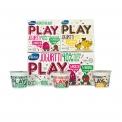 Valio Play - Yaourt sans lactose pauvre en sucres pour enfants. Dans un emballage au design ludique.