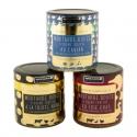 Moutardes impériales - Mélange de moutarde et crème fraîche aux ingrédients sélectionnés. Dans un pot sophistiqué.<br><br>Sélectionné pour l'utilisation d'ingrédients nobles (truffes, foie gras, caviar).<br>