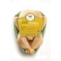 OliVchicken - Un poulet nourri au maïs avec un régime amélioré grâce à l'ajout d'huile d'olive pure dans son alimentation. La viande est plus savoureuse et tendre. Grâce à sa haute teneur en sélénium et à ses propriétés bénéfiques pour la santé humaine, OliVchicken est un aliment fonctionnel