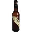 La white IPA (indiale pale ale) bio de Vézelay - Une bière inspirée de la Nouvelle Angleterre. 100% biologique, pur malt,  non filtrées, non pasteurisées, 0 additif, 0 colorant. Saveur agrumes, très houblonnée sans être amère. Blonde - 5.4° - I.B.U 10. Date de mise sur le marché mars 2018, conditionnement bouteille 250 ml.