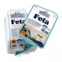 Feta P.D.O. cheese 5x30g snack pack - Feta artisanale en portions individuelles nomades. AOP. Aux laits de brebis et chèvre. Certifiée halal. 5 pièces<br><br>Sélectionné pour la praticité du conditionnement nomade et le caractère anti-gaspillage de la dose. <br>