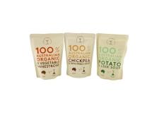 Australian organic soup - Soupe biologique aux ingrédients locaux. Fabriqué avec des produits 100% australiens. Sans conservateurs, colorants ni arômes artificiels. Sans sucres ajoutés. Sans OGM. Dans un emballage sans bisphénol A.<br><br>Sélectionné pour le caractère biologique et local de la gamme.<br>
