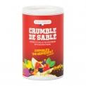 Crumble de sablés - Crumble croustillant de sablés pur beurre à saupoudrer. 100% artisanal et naturel.<br><br>Sélectionné pour le produit aide à la pâtisserie à base de co-produit de biscuits au beurre et l'utilisation facile.<br>