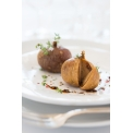 Figues farcies au foie gras - Un produit d'exception qui allie la finesse d'un foie gras 100% français (entier mi-cuit) à la subtilité d'une figue séchée au soleil. <br /> Un mariage réussi entre le croquant de la figue et le moêlleux du foie gras où l'équilibre des saveurs donne au mélange un goût inimitable.