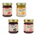 Chia pearl jelly - Gelée de fruits naturelle aux graines de chia. Sans sucres raffinés. Source d'Omega 3, fibres et protéines. Vegan. Sans gluten.<br><br>Sélectionné pour la recette à base de chia.<br>
