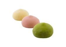 Bubbies dairy free Mochi Frozen Desserts - Mochi fourré de glace au lait de coco. Vegan. Sans gluten. <br><br>Sélectionné pour la proposition de glace mochi en circuit grande distribution.<br>