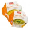 Organic soup with spinach & hemp seeds - Soupe de légumes réfrigérée biologique aux graines. Vegan. Sans gluten. <br><br>Sélectionné pour la proposition pratique et saine de superaliments.<br>