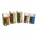 Response bio wellness - Café biologique dans un emballage compostable. L'emballage est certifié biodégradable, compostable industriellement et issu partiellement de matériaux renouvelables.<br><br>Sélectionné pour le caractère écoresponsable de l'emballage et les variétés nouvelles de café (ginseng et verveine).<br>