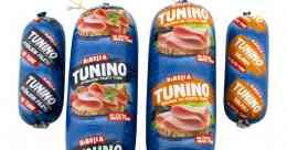 Tunino - Spécialité de thon dans un boudin. A trancher. Pour sandwiches, pâtes, salades, etc.. A base de filets de thon.<br><br>Sélectionné pour l'offre de thon dans un boudin à découper.<br>