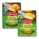 Végétal façon cordon bleu / croque fromage - Substitut de viande panée sans OGM riche en protéines. Pauvres en matières grasses saturées. Prêt en quelques minutes à la poêle. Préparé en France.<br><br>Sélectionné pour le produit type cordon bleu en offre végétale.<br>