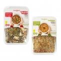 Ready-to-cook lentil mixes - Mélange naturel de lentilles et légumes déshydratés prêt à cuire. Vegan. Sans sel ajouté. 4 portions.<br><br>Sélectionné pour l'offre de préparation originale à faire soi-même.<br>