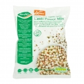 """Cauli power mix - Mélange de chou-fleur, quinoa rouge et lentilles vertes. Chou-fleur coupé façon riz.<br><br>Sélectionné pour la recette saine à base de chou-fleur, quinoa et légumineuses.<br>Sélectionné pour la proposition de facilité d'usage pour le quinoa et la valorisation du chou-fleur.<br>Sélectionné pour la forme des légumes """"coupée façon riz"""". Alternative au riz.<br>"""