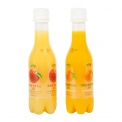 JusReal, freshly squeezed juice soda - Jus de fruit pressé pétillant. Sans conservateurs, sans caféine, sans sucres ajoutés ni glucose.<br><br>Sélectionné pour le caractère pétillant de la composition du jus de fruit.<br>