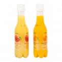 JusReal, freshly squeezed juice soda - Jus de fruit pressé pétillant. Sans conservateurs, sans caféine, sans sucres ajoutés ni glucose.<br><br>Sélectionné pour le caractère pétillant de la composition du jus de fruit.<br>