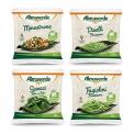 Frozen vegetables - Légumes biologiques surgelés dans un sachet compostable. Légumes 100% italiens.<br><br>Sélectionné pour l'emballage compostable.<br>
