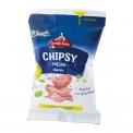 Chipsy Meat chips - Chips de viande riches en protéines. 37g de protéines. 100g de produit est fabriqué avec 182g de viande.<br><br>Sélectionné pour la proposition de chips à base de viande.<br>Sélectionné pour la proposition de chips à base de viande.<br>