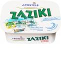 APOSTELS Zaziki - Tzatziki d'APOSTELS. Le tzatziki n° 1 en Allemagne. 2500 tasses sont consommées en Allemagne chaque heure.
