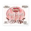 Puro beretta - Charcuterie élaborée dans le respect du bien-être animal. Animaux élevés sans antibiotiques dès la naissance. Filière 100% contrôlée. Sans gluten ni lactose.<br><br>Sélectionné pour l'offre clean label et le respect du bien-être animal.<br>