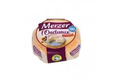 Merzer L'onctueux - Fromage onctueux et gourmand pauvre en matières grasses. Élaboré avec du lait partiellement écrémé. 12% de MG. Produit en Bretagne.