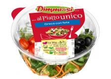 Salades composées - Fresh prepared salads - Des salades composées pour un repas léger, frais et sain. Consommation hors-foyer grâce à son kit d'assaisonnement. Les ingrédients sont séparés pour conserver intacte la fraicheur de la salade. Disponibles des recettes « bienêtre » avec des ingrédients superfood (gingembre, fruits secs, aloe¿).