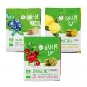 GREEN UP' - Mini cookies biologiques aux superaliments. 100% végétal. Riche en fibres et vitamines. Certification AB et européenne.<br><br>Sélectionné pour la fonctionnalité naturelle apportée par les superaliments.<br>