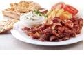 """Gyros - Le produit fameux de Grèce, le """"street food grecque"""", Gyros, prépare par la plus grande industrie de la viande en Grèce. Gyros de porc, de poulet, de veau et de bœuf, prêt à le goûter partout dans le monde!"""