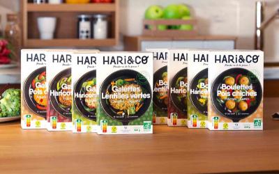 Recettes de Hari&Co à base de légumineuses bio