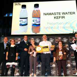 Namaste Kéfir, Grand Prix Or de SIAL Innovation 2018