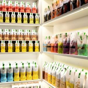 Rayons produits bio