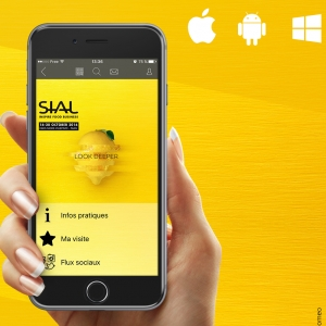 Application mobile officielle SIAL Paris 2016