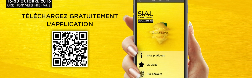 Application officielle SIAL Paris 2016