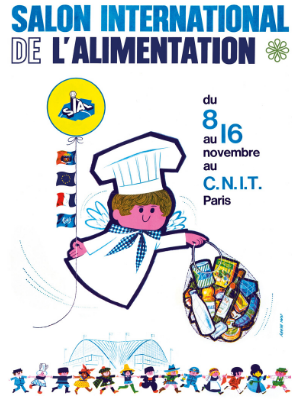 SIAL Paris - Affiche de l'édition 1964