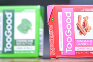 SIAL Innovation 2020 winners - Bronze- Togood chewing-gum